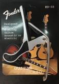 کاپو گیتار Fender رنگ نقره ای