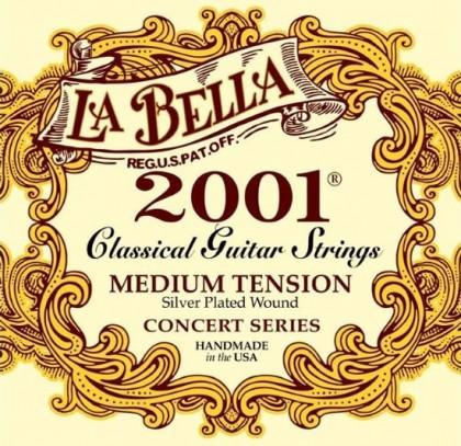 سیم گیتار کلاسیک لا به لا La Bella 2001 Medium