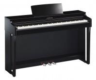 پیانو دیجیتال یاماها CLP-625 - رنگ مشکی براق