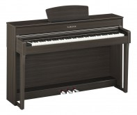 پیانو دیجیتال یاماها CLP-635 - رنگ گردویی مات