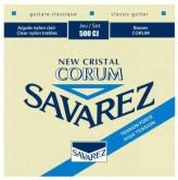 سیم گیتار کلاسیک Savarez 500CJ Corum Cristal