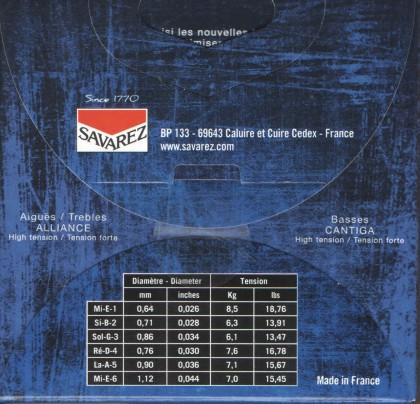 سیم گیتار کلاسیک ساوارز 510 AJ